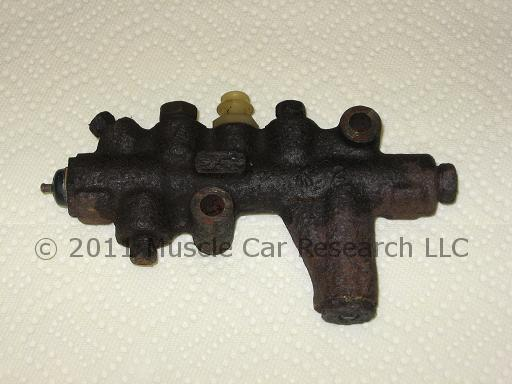 Kelsey-Hayes Cast Iron Combination Valve
