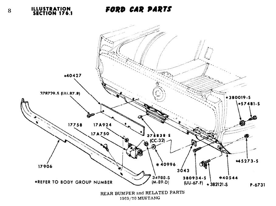 67 Mustang Tail Light Wiring Diagram