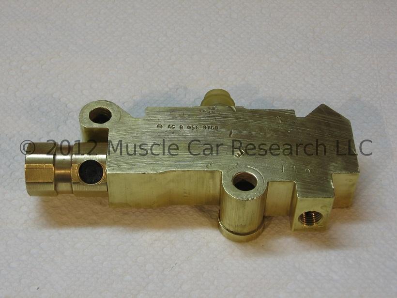 1978 - 1982 GM 1257208 Combination Valve Rebuild | Muscle