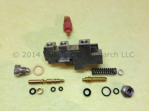 Brake Fluid Flush Cost >> 1977 - 1986 Ford Mustang Brake Pressure Control Valve Rebuild | Muscle Car Research LLC